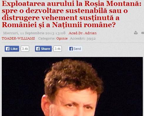 Exploatare Rosia Montana