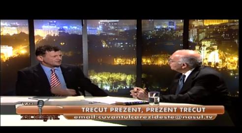 Adrian Toader-Williams cu Vartan Arachelian talk show Cuvantul care Zideste NASUL TV 15 Nov 2013