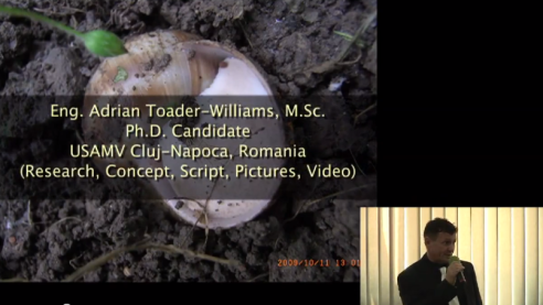 Bioeconomy of Escargot Farming PhD Thesis Presentation Adrian Toader-Williams USAMV Cluj-Napoca [RO]